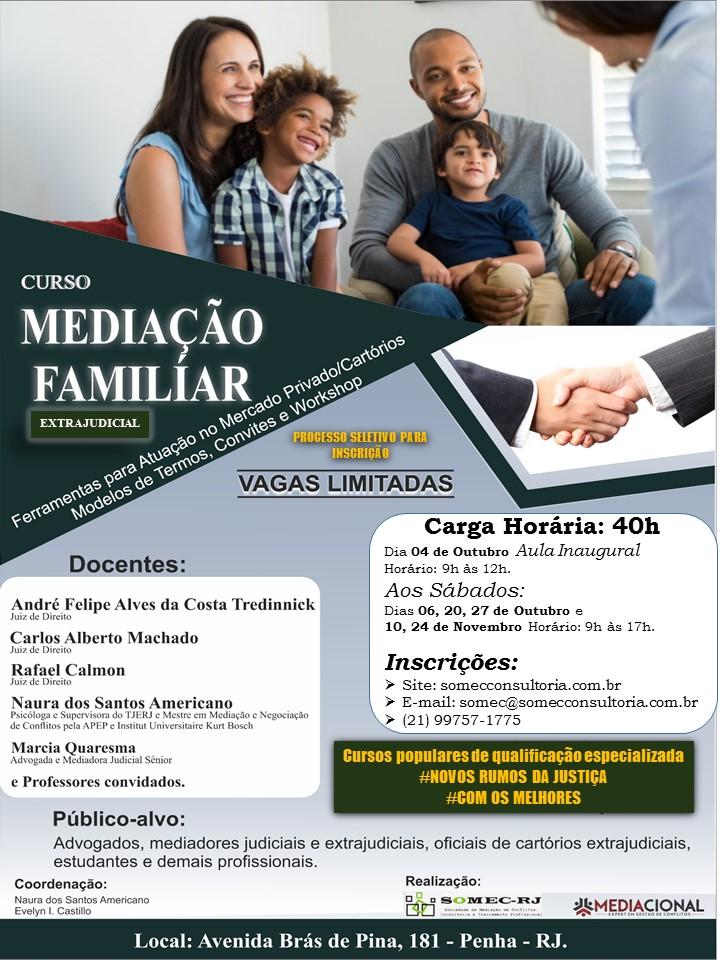 MEDIAÇÃO FAMILIAR - NOVOS RUMOS JUSTIÇA
